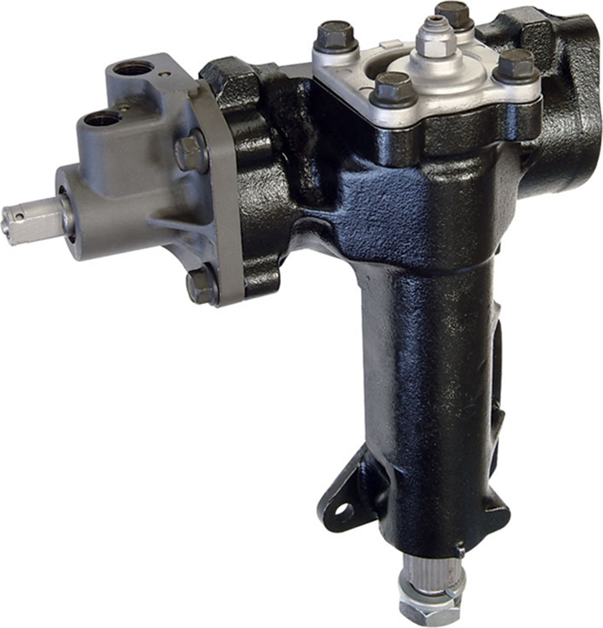 6 AN Borgeson 925121 Power Steering Fitting Stainless for Ford Box to