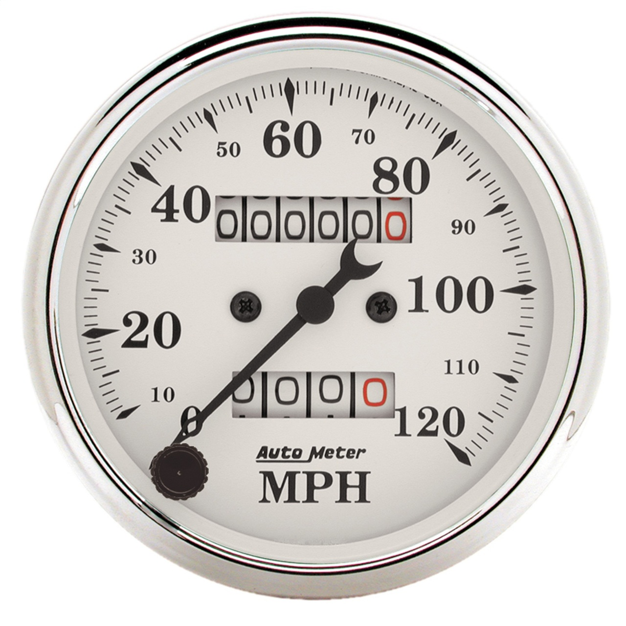 Auto Meter 5153 Pro-Comp 3-3//8 160 mph In-Dash Mechanical Speedometer with Trip