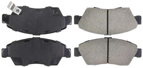 stoptech 309 06210 stoptech sport brake pads fits civic