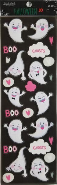 Halloween Ghost 3D Sticker