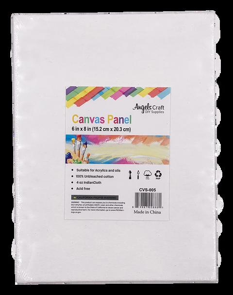 "CVS-005 Canvas Panel, 6"" x 8"", 2 ct 12/inner qty, 4dz/cs"