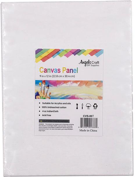 "CVS-007 Canvas Panel, 9"" x 12"", 1 ct"