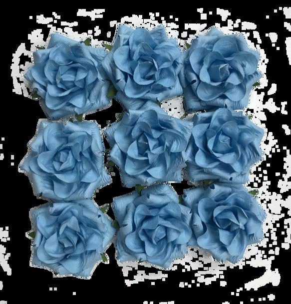 FLR-067 Paper Flower-Blue