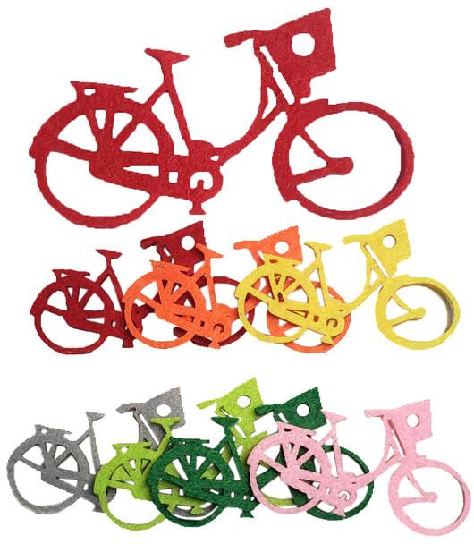 SFT-005-2 Feltie Felt Bicycles Shape