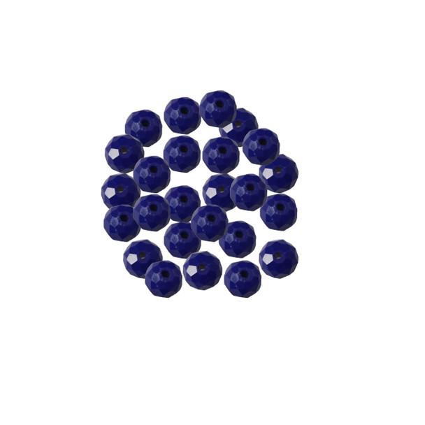 BB-048 Crystal Beads-Royal Blue 8mm