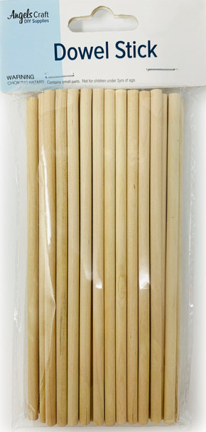 EW-021 Wooden Dowel Sticks