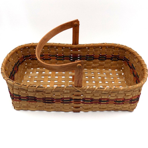 Two Pie Oval Basket