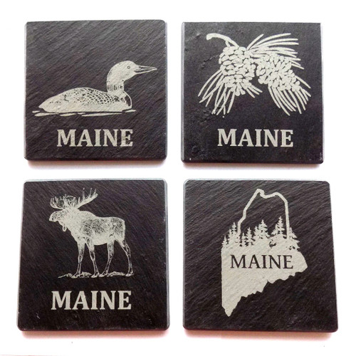 Single Monson Slate Coaster