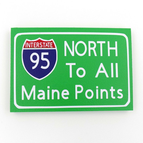 North Desktop Sign
