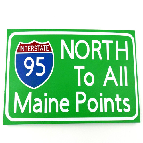 North Large Sign