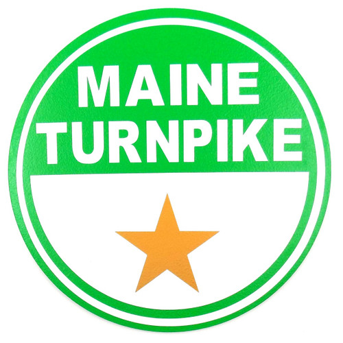 Maine Turnpike Sign