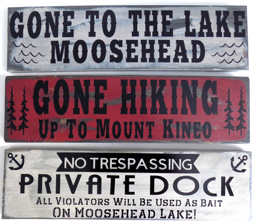 Moosehead Signs
