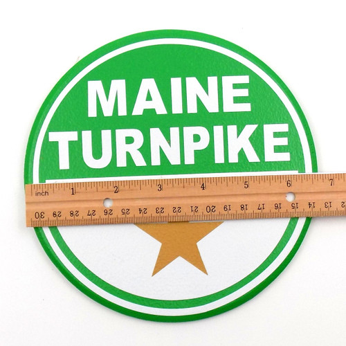 Small Maine Turnpike Sign