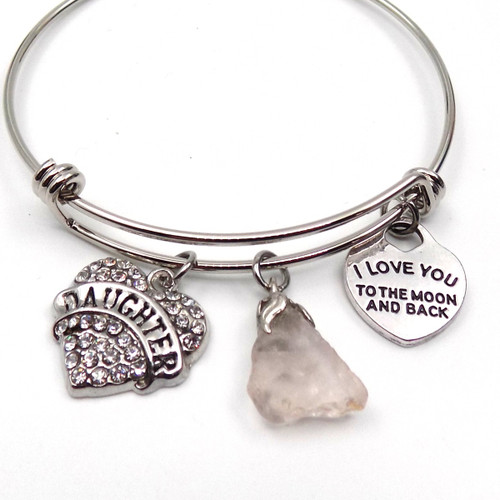 Moosehead Glass Bangle Bracelet-Mothers' Day