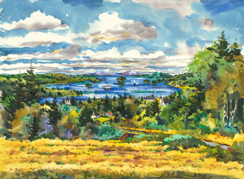 2015 View From Indian Hill Print       14 by 19
