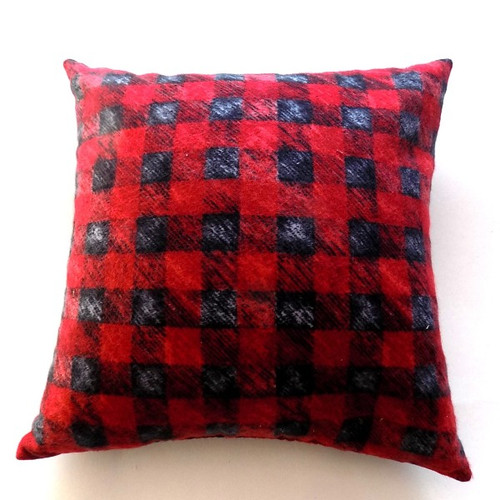 Buffalo Plaid Balsam Fir Pillow, 10 inch