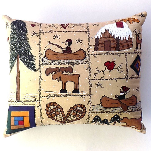 Moose Camp Balsam Fir Pillow, 8 by 6