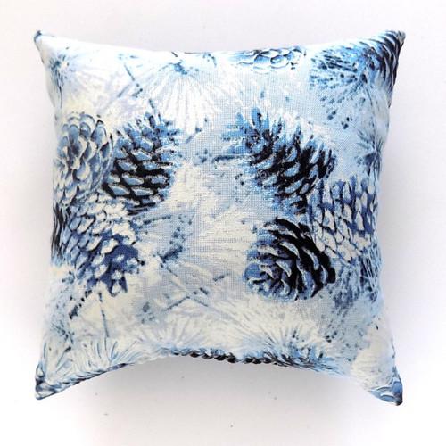 Blue Cones Balsam Pillow
