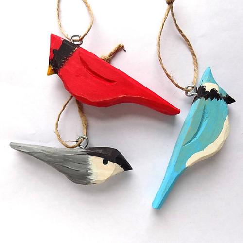 Whittled Bird Sets