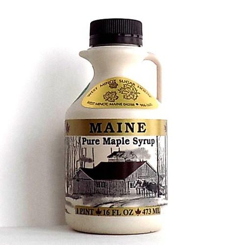 16 ounce Maine maple syrup