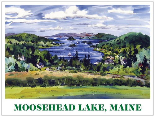 Poster of Moosehead Lake, Maine