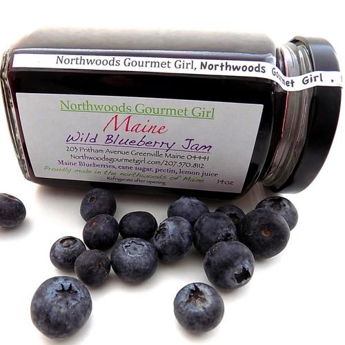 Northwoods Gourmet Girl Blueberry Jam