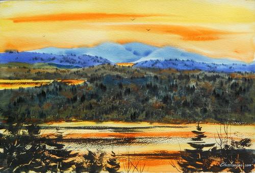 Blair Hill Sunset