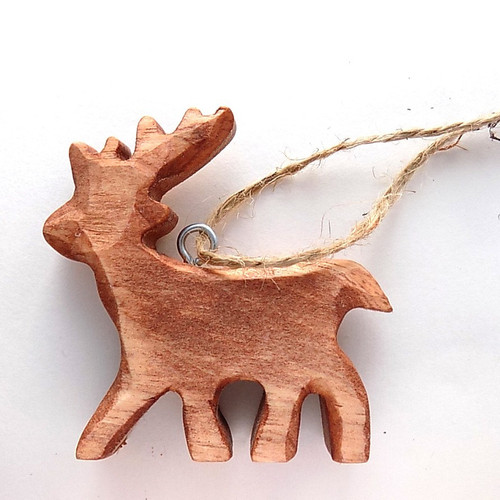 Whittled Deer