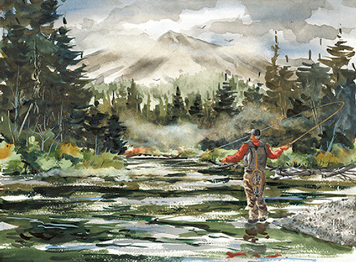 Fly Fishing at Mt. Katahdin