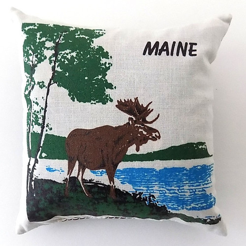 Maine Moose Balsam Pillow, 5 inch