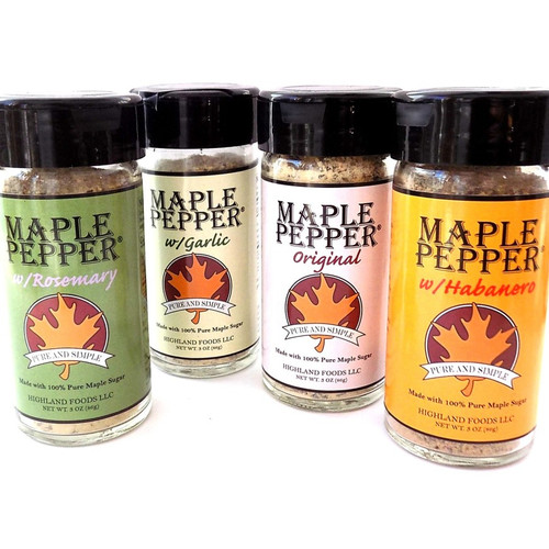 Maple Pepper Set