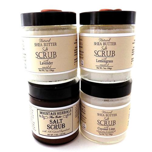 Natural Shea Butter Salt Scrub