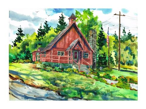 Rockwood Chapel Print