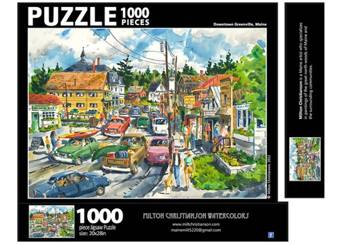 Downtown Greenville Puzzle, 1000 piece