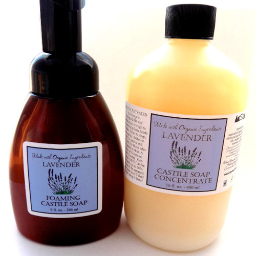 Concentrated Castile Soap Refill