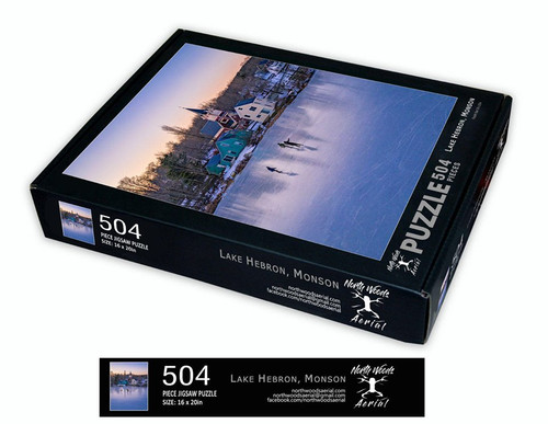 Monson Puzzle, Lake Hebron, 504 piece