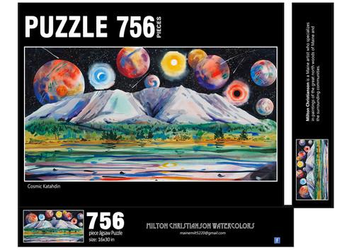 Cosmic Katahdin Puzzle, 756 piece