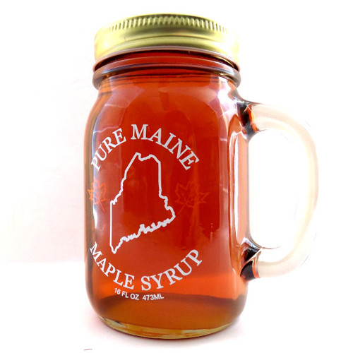 Maple Syrup in Mug