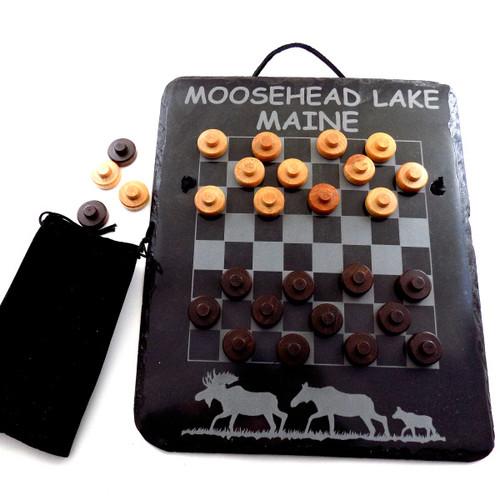 Monson Slate Checkerboard