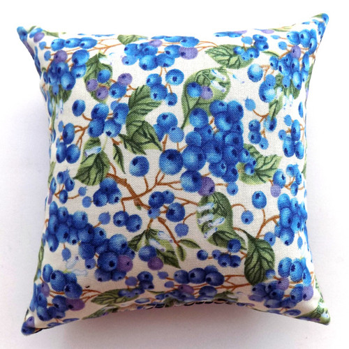 Maine Blueberries Balsam Pillow, 5 inch **new 2020*