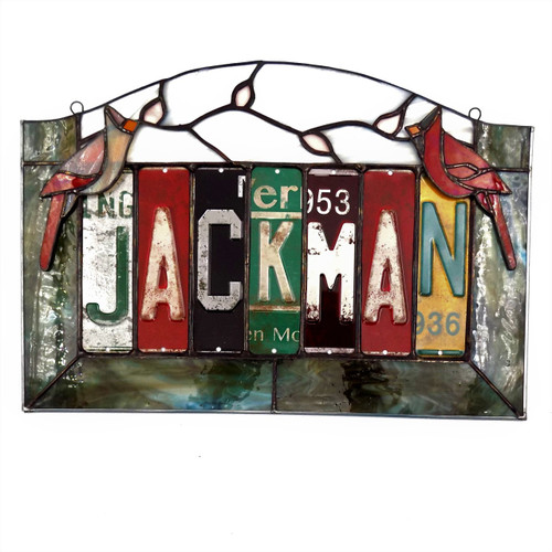 Stained Glass Jackman