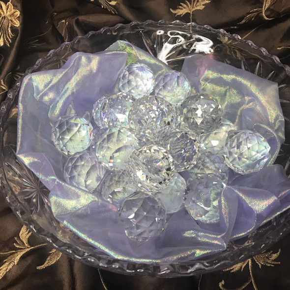 Crystal Feng Shui Ball  - Holy Fire Reiki Charged