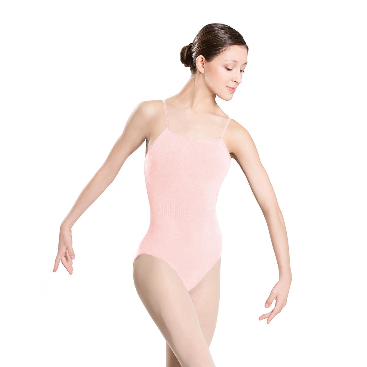 Camisole Leotard | Pink
