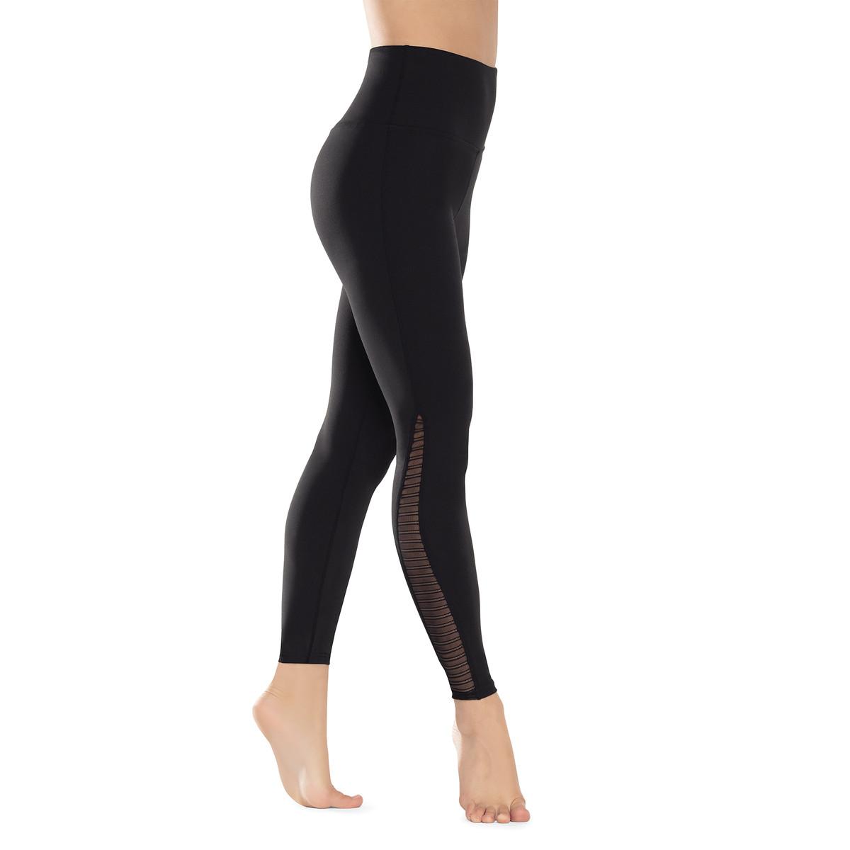 Linear Mesh High-Rise Legging