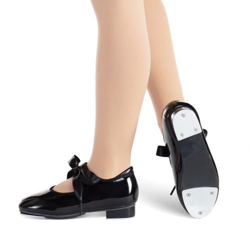 Ribbon Tie Tap Shoe