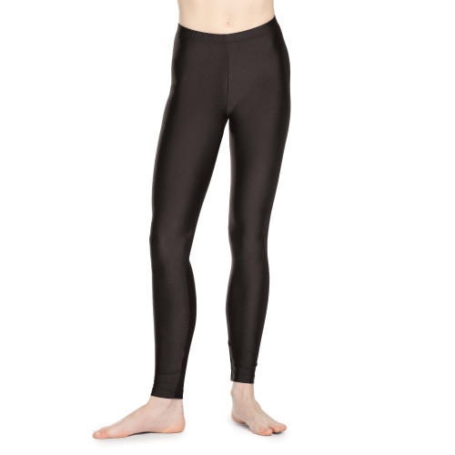 Nylon-Spandex Ankle Leggings