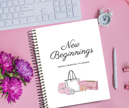 Weekly/Monthly Planner - Comes in TWO Designs!