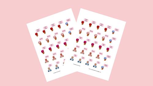 Shalom Ladies Vol 1 Stickers