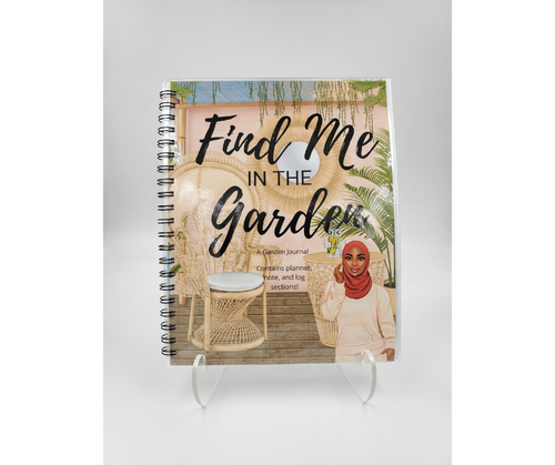 Garden Journal SA4 - Comes in TWO Designs!