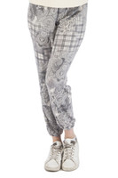 Paisley Plaid Jogger